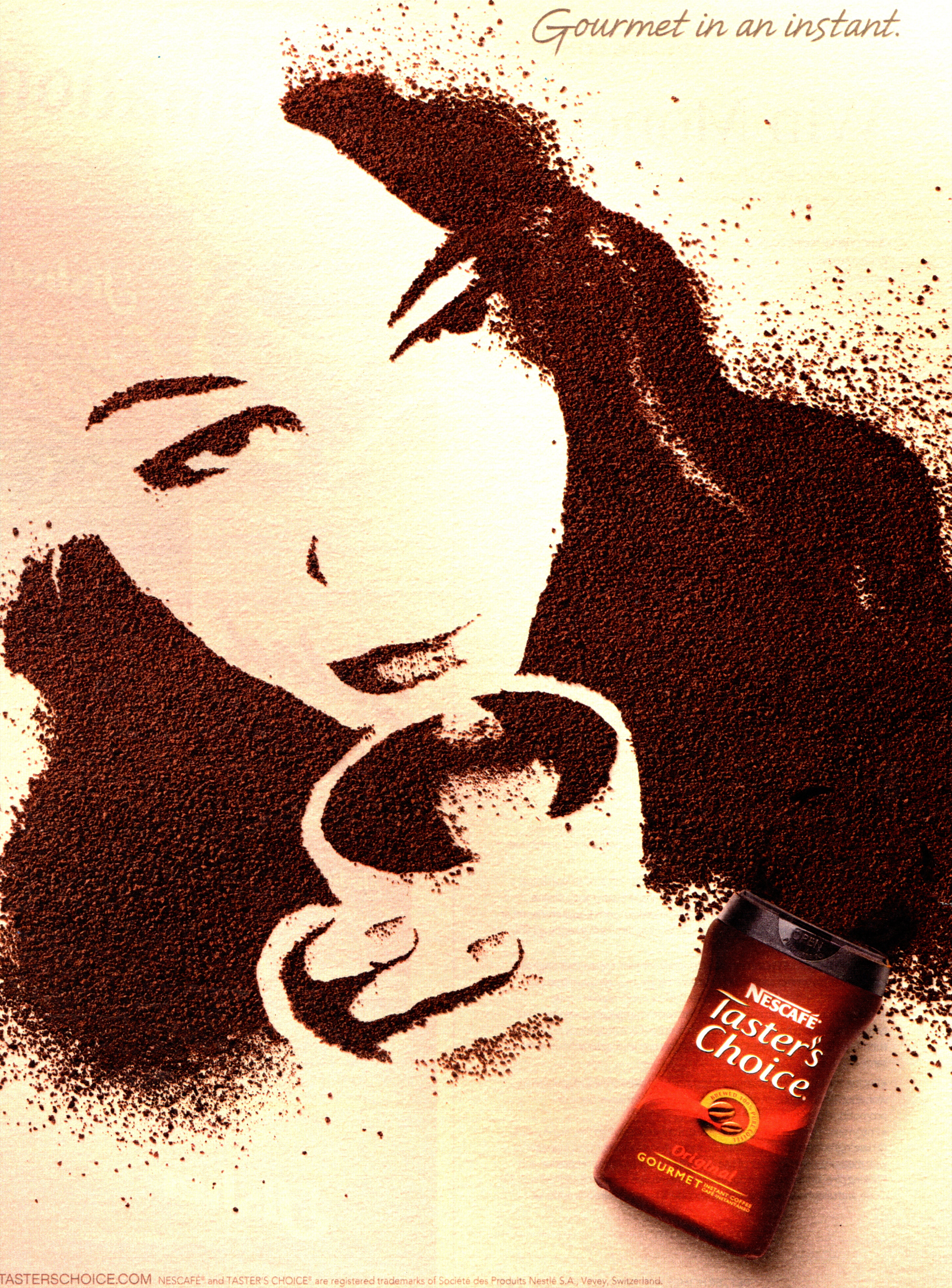 Coffee isn t just for drinking you can do art too the for Painting with coffee grounds